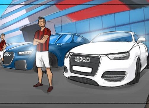 Storyboard Audi / Real Madrid