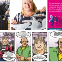 Comic Auer und Stadler