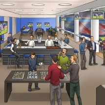 Big Scribble VIP Lounge/Schalke 04