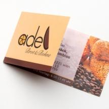 Visitenkarte Café Adel Brot & Bohne