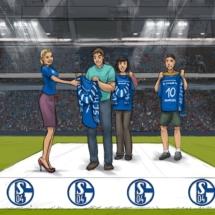 Scribble Schalke