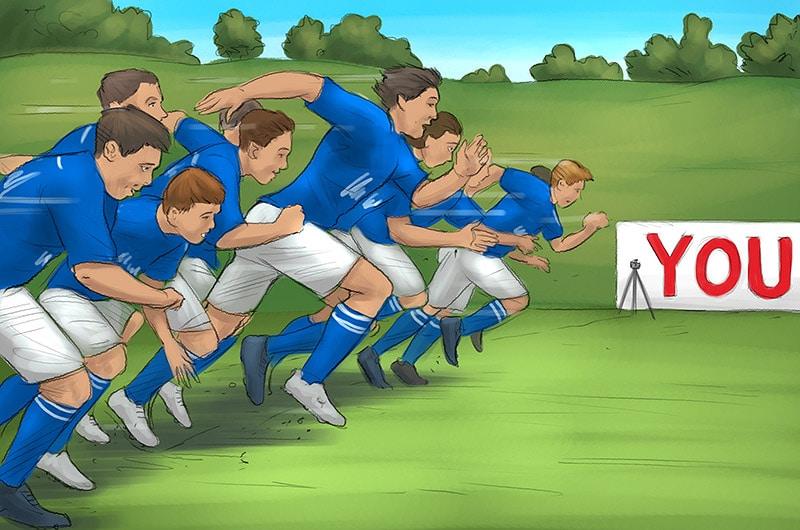 Scribbles FC Schalke 04