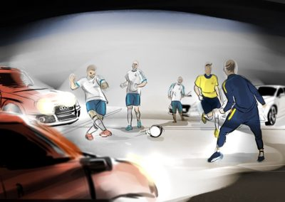 Storyboard Audi / Real Madrid 2