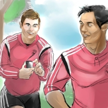 Storyboard Audi / Real Madrid 3