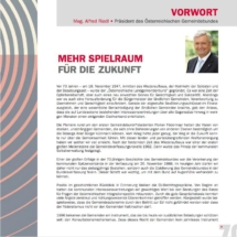 70 Jahre Österreichischer Gemeindebund 2017 - Vorwort