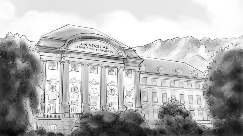 Storyboard Universität Innsbruck
